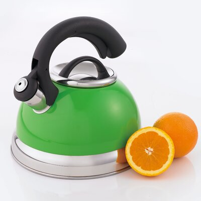 CREATIVE HOME Symphony 2.6-qt. Whistle Tea Kettle - Color: Green at Sears.com