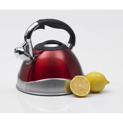 Creative Home Crescendo 3.1-qt. Whistle Tea Kettle - Color: Cranberry at Sears.com