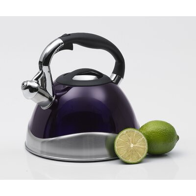 Creative Home Crescendo 3.1-qt. Whistle Tea Kettle - Color: Purple at Sears.com