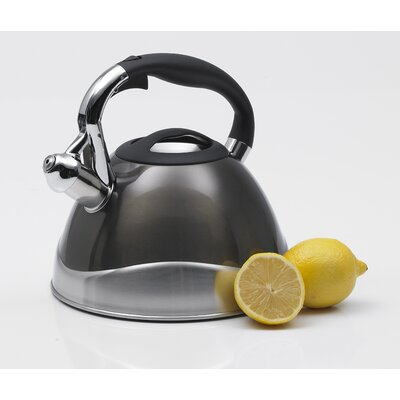 Creative Home Crescendo 3.1-qt. Whistle Tea Kettle - Color: Smoke at Sears.com