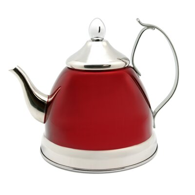 Creative Home Nobili 1-qt. Tea Kettle/Infuser - Color: Cranberry at Sears.com