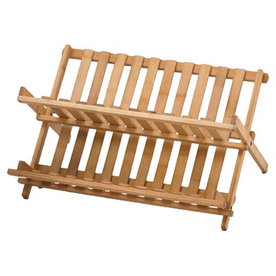Bamboo Folding Dish Rack (Set of 6)