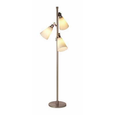 Lighting Enterprises Adjustable Tripod Telescope Floor Lamp in ...