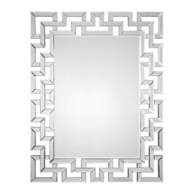Mirrored Greek Key Mirror