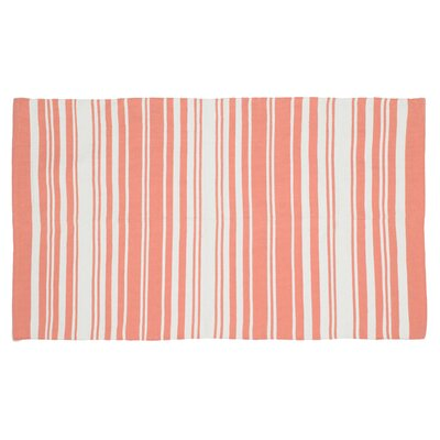 Cabana Coral Handmade Area Rug Rug Size: Runner 11 x 5