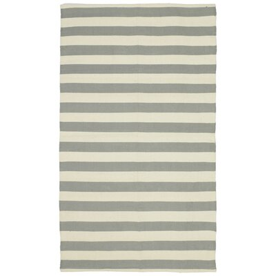 Cabana Handmade Grey Indoor/Outdoor Area Rug Rug Size: 3 x 5