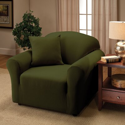 Florence Chair Slipcover Color: Forest