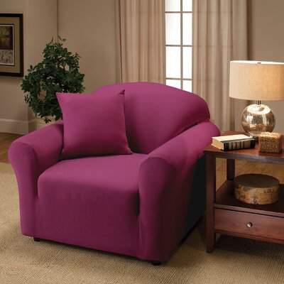 Florence Chair Slipcover Color: Purple