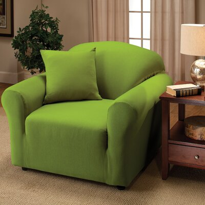 Chair Slipcover Color: Lime