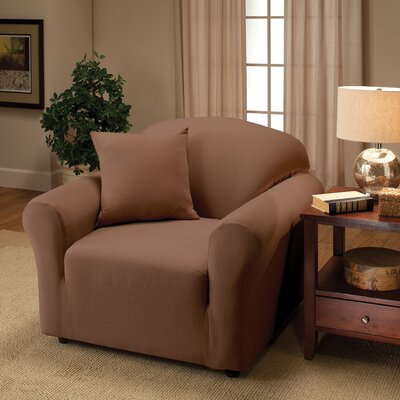 Florence Chair Slipcover Color: Brown