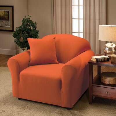 Florence Chair Slipcover Color: Tangerine