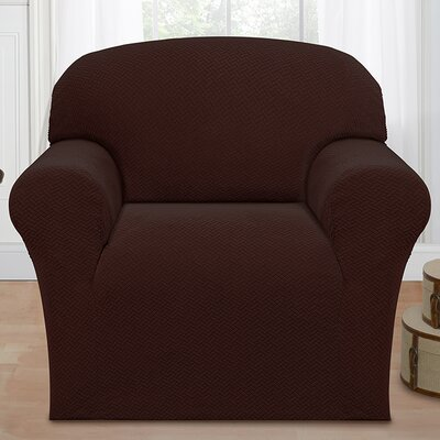 Armchair Cover Color: Chocolate