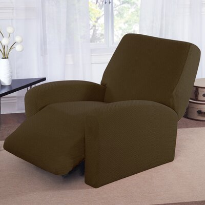 Recliner Slipcover Color: Sage