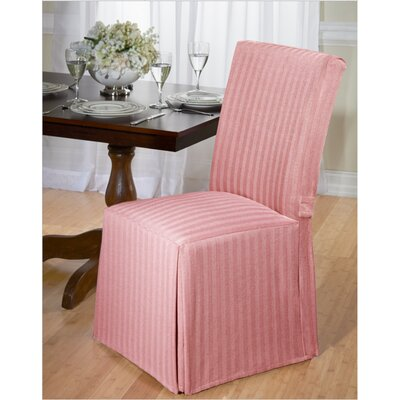 Dining Chair Slipcover Upholstery: Red
