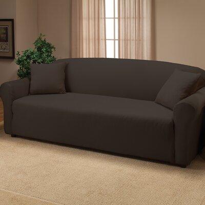 Madison Home Stretch Jersey Sofa Slipcover (2 Pieces) - Color: Aqua