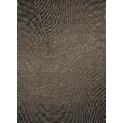Artistry Grey Wave Area Rug Rug Size: 5 x 7
