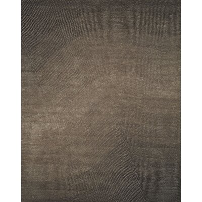 Artistry Grey Wave Area Rug Rug Size: 8 x 10