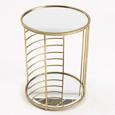 Linear Side End Table