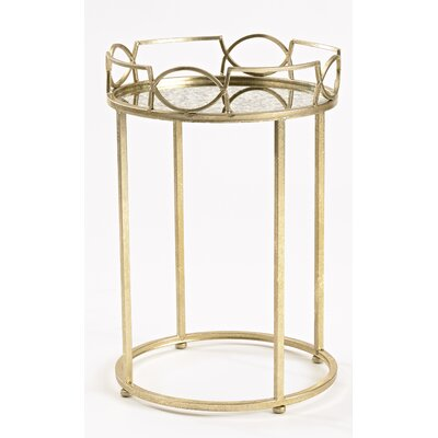 Lattice Edge End Table