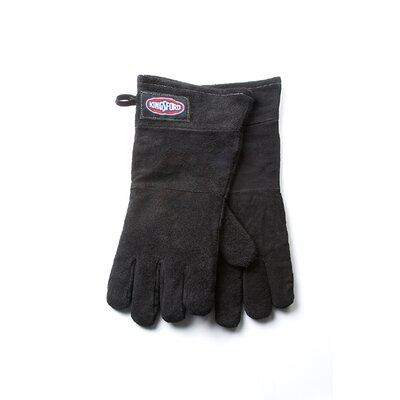 Leather Grill Glove in Black (Set of 2)