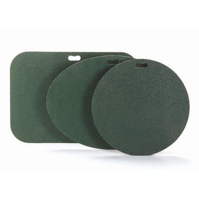 Oval Grill Pad Color: Green