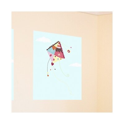 "Kite Sky Art Print Size: 11"" H x 14"" W"