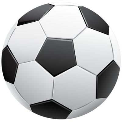 Soccer Sign Ball 3D Wall Décor
