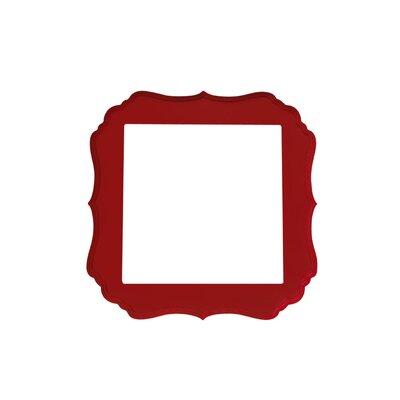 Secretly Designed Joshua Frame - Size: 10x10, Color: Barn Red