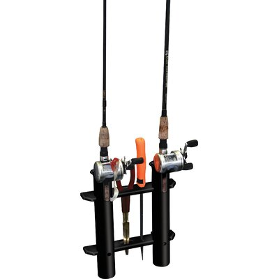 Image of Unified Marine Two Rack Tube Rod Holder in Black (50091421)