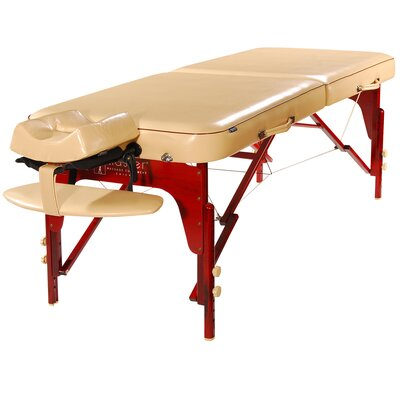 Monroe Portable Massage Table Color: Cream Luster