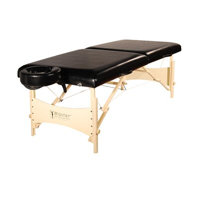 Balboa Portable Massage Table Color: Black Luster