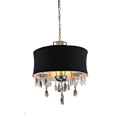 Zenya 3-Light Drum Chandelier