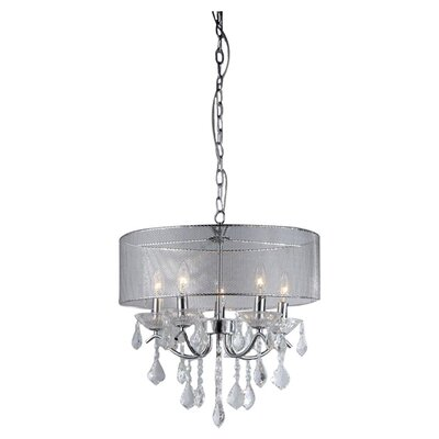 Karole 5-Light Drum Chandelier