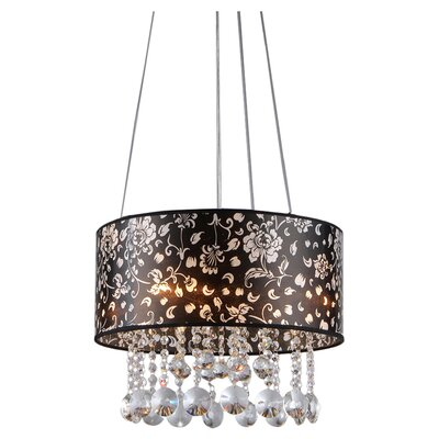 Claire 4-Light Drum Chandelier