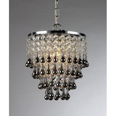 Drape 1-Light Cascade Pendant