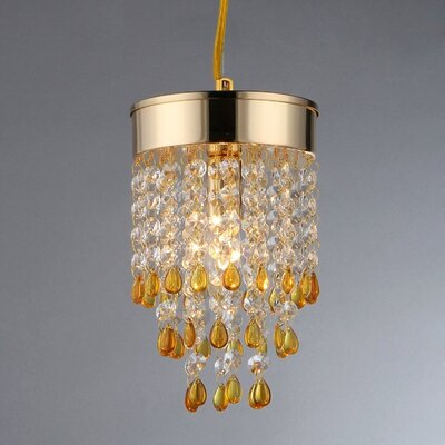 Deb 2-Light Crystal Chandelier