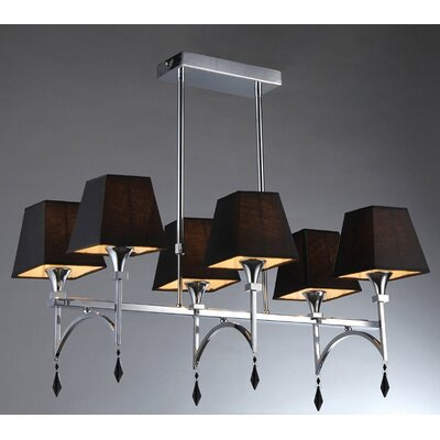 6-Light Kitchen Island Pendant