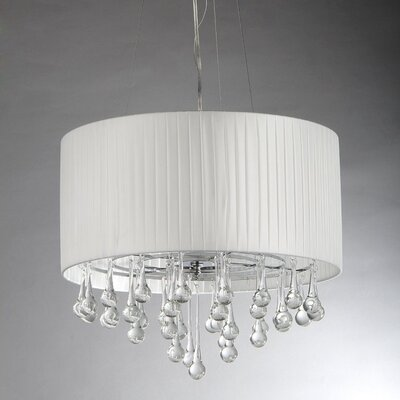 Saks 3-Light Drum Chandelier