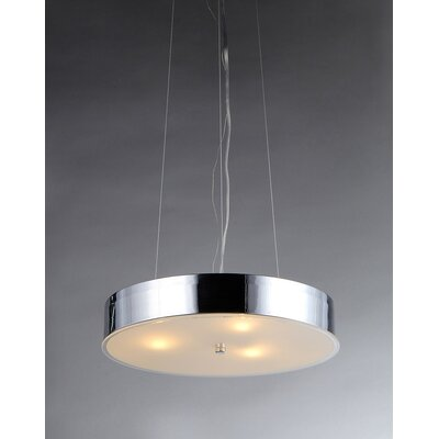 Moon 3-Light Drum Chandelier