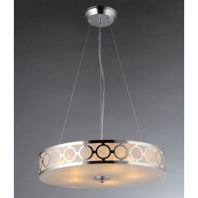 Marks 5-Light Drum Pendant