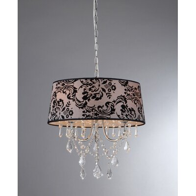Eris 4-Light Drum Chandelier