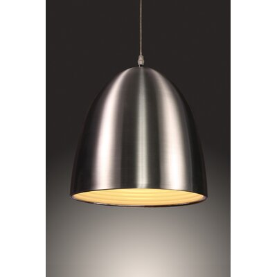 Beryl 1-Light Bowl Pendant