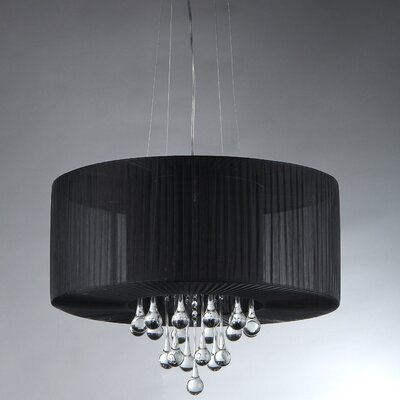 Ivan 3-Light Drum Chandelier