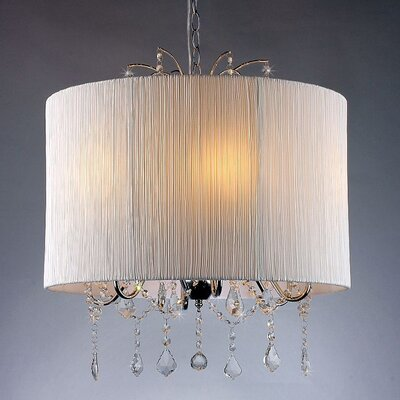Hope 1-Light Drum Chandelier