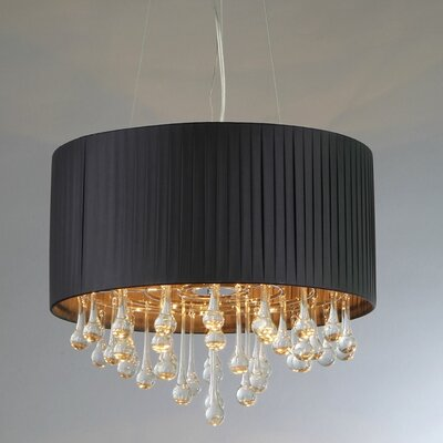Urban 3-Light Drum Chandelier