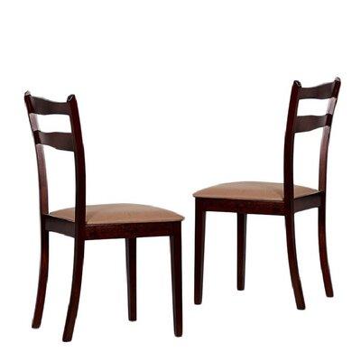 Tiffany Callan Side Chair Finish: Brown