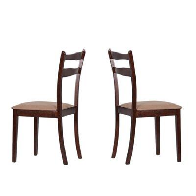 Tiffany Callan Side Chair Finish: Latte