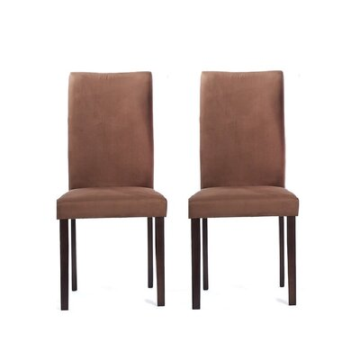 Tiffany Shino Side Chair Finish: Sugar Brown