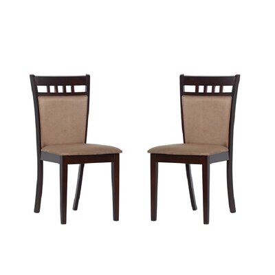 Tiffany Shirlyn Side Chair Finish: Smoke Brown