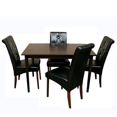 Tiffany 5 Piece Dining Set